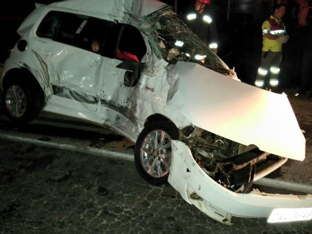 Acidente que matou PM ocorreu na BR-070, em Cuiabá (Foto: Divulgação/Polícia Civil-MT)