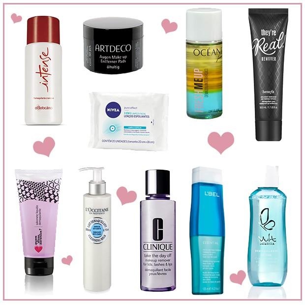 Top 10: demaquilantes que salvam na hora de retirar a maquiagem
