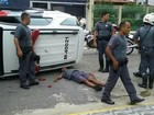PMs capotam com viatura após serem atingidos por carro em alta velocidade