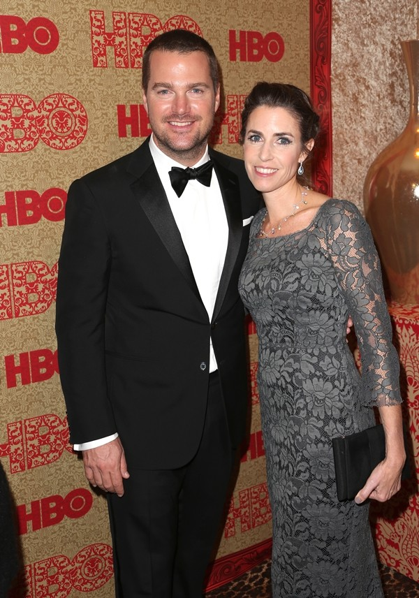 Chris O'Donnell e Caroline Fentress (Foto: Getty Images)