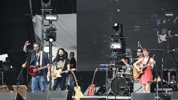 Show da Banda do Mar no Lollapalooza (Foto: Felipe Monteiro/Gshow)