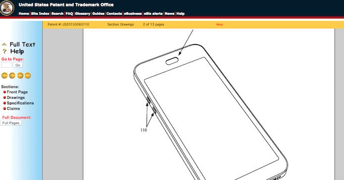 Patente da Apple reveste os componentes internos para protegê-los conta água (Foto: Reprodução/USPTO)