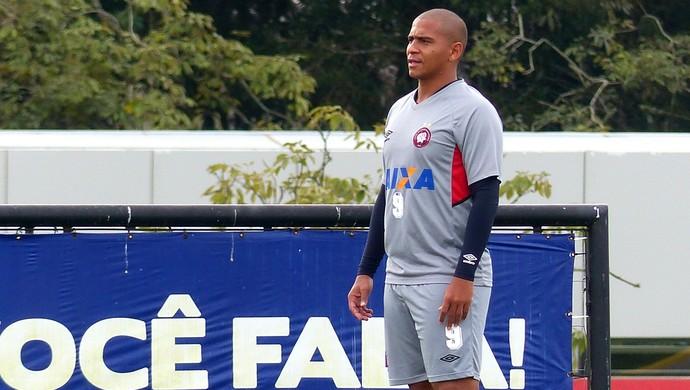 Walter Atlético-PR (Foto: Monique Silva)