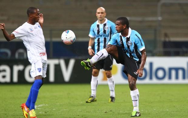 Fernando atuou no Grêmio após defender Seleção (Foto: Lucas Uebel/Grêmio FBPA)