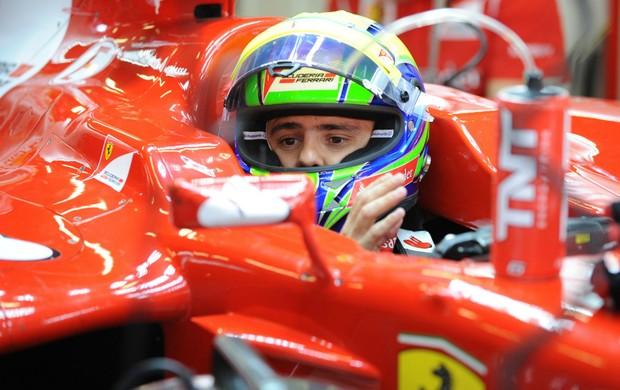 f1 Felipe Massa em São Paulo (Foto: Scuderia Ferrari / Divulgação)