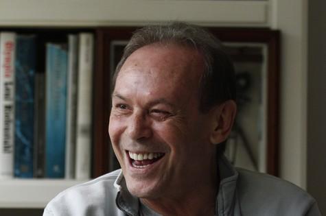 José Wilker: Herbert em 'Amor à vida' (Foto: Lucas Figueiredo/Extra)