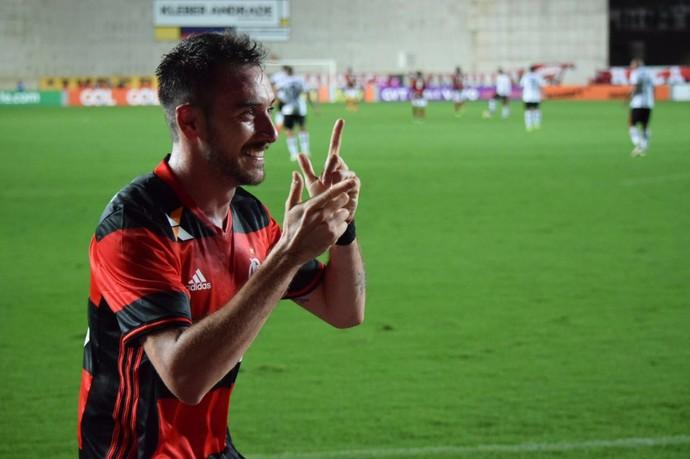 mancuello flamengo x atlético-PR (Foto: Divulgação/Flamengo)