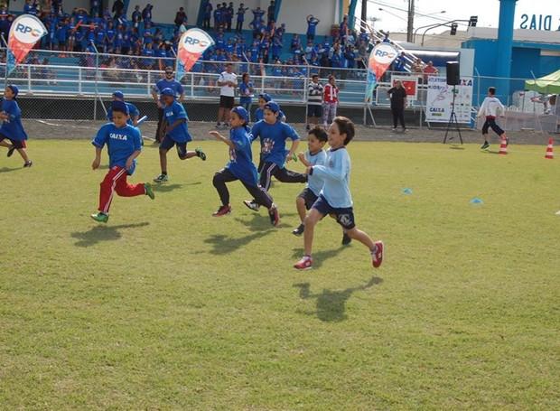 Grand Prix CAIXA de atletismo escolar (Foto: Divulgação/ Sesc)