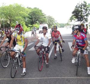 I Etapa do Piauiense de Ciclismo (Foto: Reprodução/Facebook)