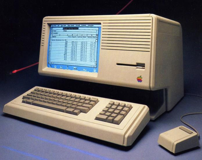 Lisa foi o terceiro modelo de PC fabricado pela Apple (Foto: Reprodução)