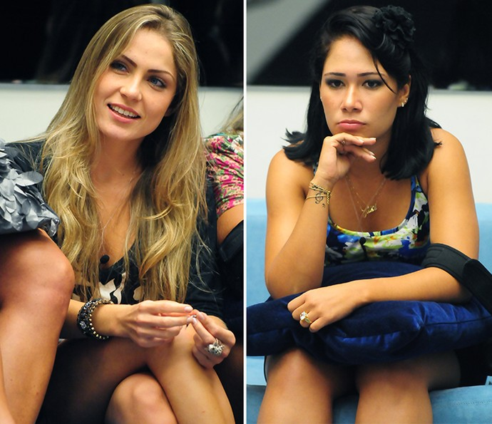A diferença entre Jakeline e Renata foi de 0,94% (Foto: Tv Globo)