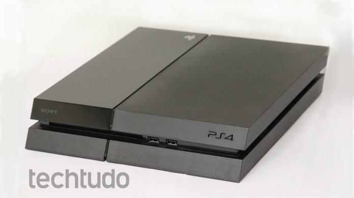 PlayStation 4, videogame da Sony (Foto: Luciana Maline/ TechTudo)