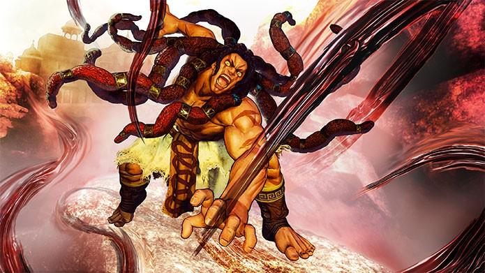 Necalli estreia na série Street Fighter (Foto: Divulgação)