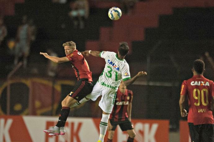 Sport x Chapecoense (Foto: Adelson Carneiro/Pernambuco Press)