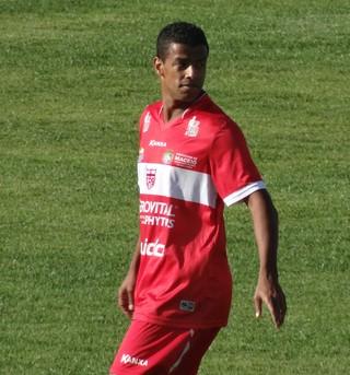Marcelo Macedo, atacante do CRB (Foto: Leonardo Freire/GloboEsporte.com)