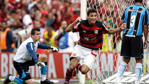 Ronaldo Angelim, no Flamengo 2009 (Foto: Reuters)