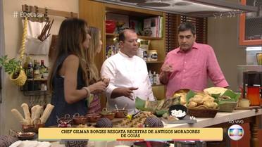 Gilmar Borges resgata receitas de antigos moradores de Pirenópolis