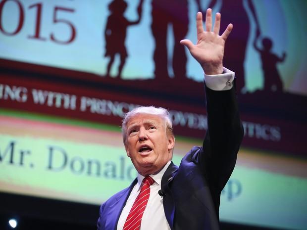 Donald Trump (Foto: SCOTT OLSON/GETTY IMAGES NORTH AMERICA/AFP)