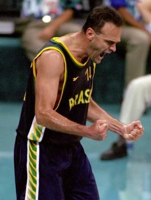 basquete Oscar atlanta-1996 (Foto: Getty Images)