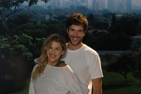 Bárbara Paz e Ricardo Ramory (Foto: Divulgação/SBT)
