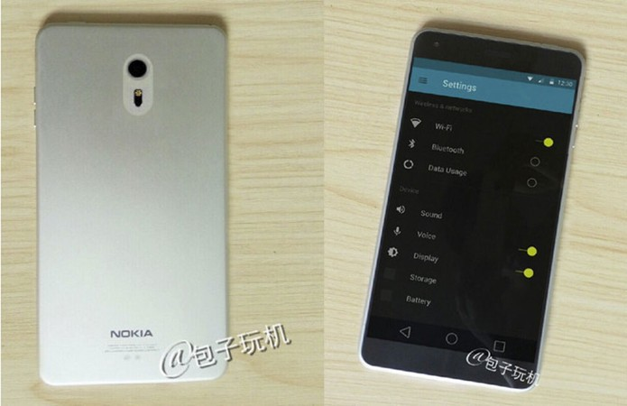 Imagens vazadas mostram Nokia C1, primeiro smartphone com Android da fabricante (Foto: Reprodução/CNMO)