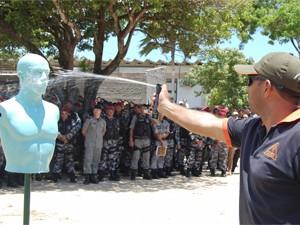 300 militares receberam treinamento teórico em outubro (Foto: Divulgação/Secom-PB)