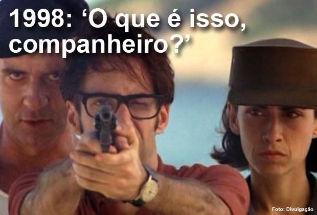 """Em 1998, """"O que é isso, companheiro?"""" foi indicado ao Oscar de melhor filme estrangeiro (Foto: Divulgação)"""