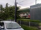 Árvore cai em trilho do VLT em São Vicente e serviço é interrompido