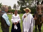 Peruano de passo é um marchador habilidoso e pode até dançar