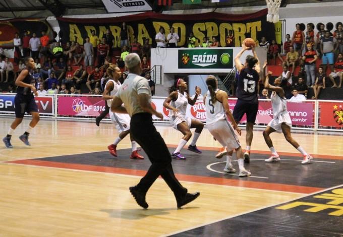 Sport x Maranhão LBF (Foto: Thiago Ribeiro/Sport Recife)