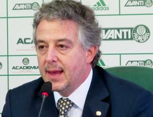 Presidente Paulo Nobre Palmeiras (Foto: Marcelo Hazan)