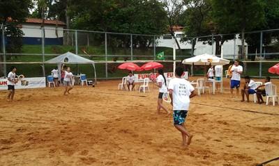 1º Torneio Escolar de beach tennis em Campo Grande (Foto: Divulgação/LBTCGMS)