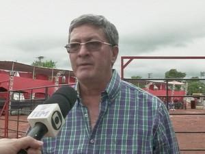 Segundo prefeito, empresa responsável disse que balanço era normal (Foto: Reprodução/TV TEM)