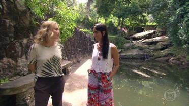 Angélica e Maria Joana fazem um passeio delicioso no Rio