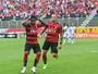 Bola em Marinho: números confirmam dependência do Vitória por atacante