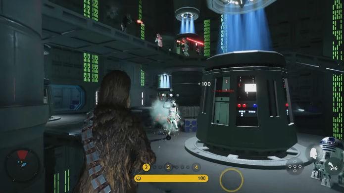 Death Star acrescenta Chewbacca ao elenco de Star Wars Battlefront (Foto: Divulgação/EA)