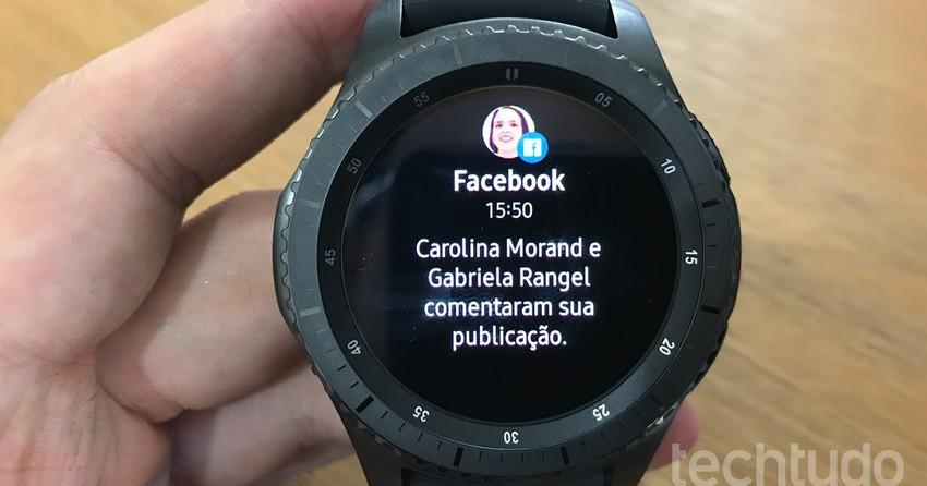 Relógio Gear S3 da Samsung chega ao Brasil com GPS; veja o ...