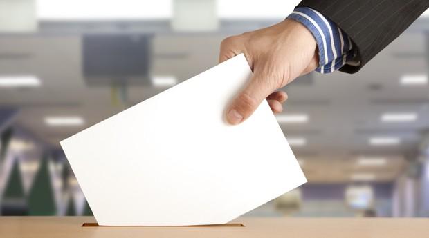 votação_política_urna_eleição_voto (Foto: Shutterstock)
