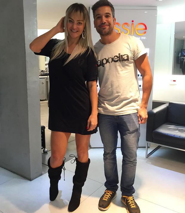 Laura Keller mostra novo visual ao lado de Guilherme Guedes  (Foto: Reprodução/Instagram)