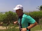 Ultramaratonista brasileiro tenta bater recorde do Caminho de Santiago