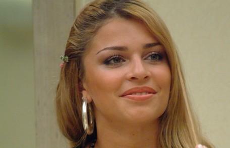 Grazi Massafera ganhou fama depois de participar do 'Big brother Brasil' 5. Ela ficou segundo lugar no reality show Divulgação