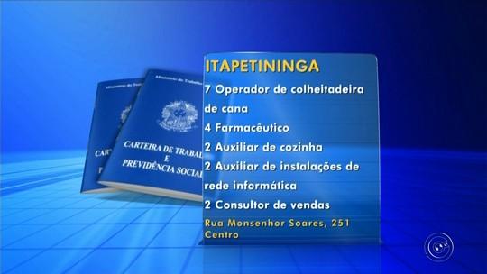 PATs da região de Itapetininga divulgam as vagas disponíveis