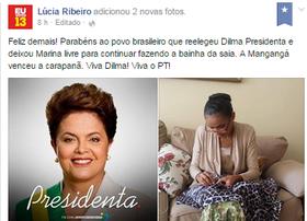 Rede considera comentário sobre Marina 'lastimável' (Reprodução/Facebook)