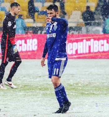 Junior Moraes Dinamo de Kiev (Foto: Divulgação)