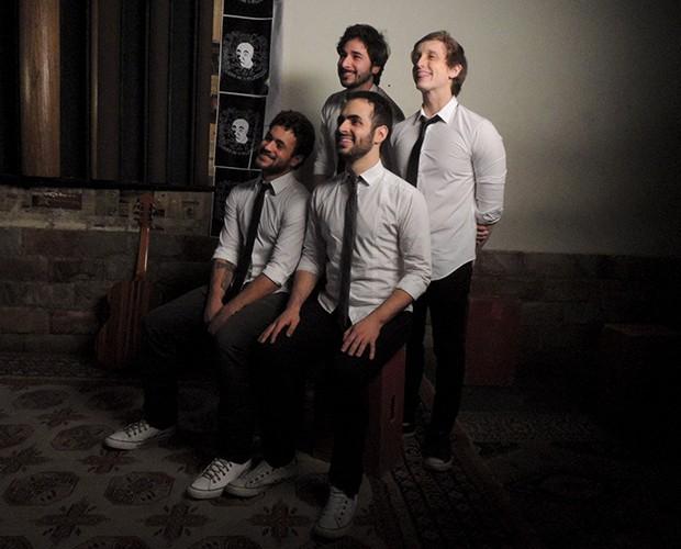 Músicos da Jamz se transformam em atores para o primeiro clipe da banda (Foto: Divulgação)
