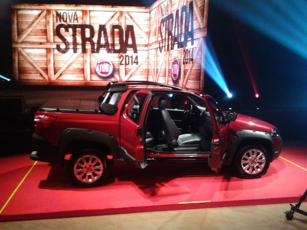 Fiat Strada 2014 (Foto: Rafael Miotto/G1)