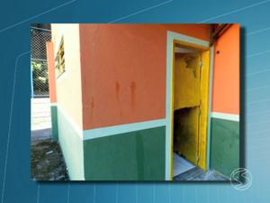 Ações de vandalismo preocupam moradores de Piraí, RJ (Foto: Reprodução/TV Rio Sul)