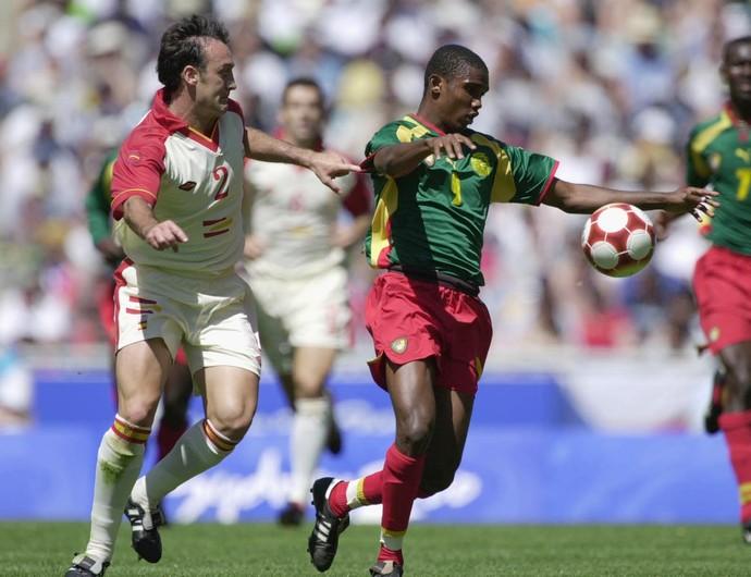 Samuel Eto'o Camarões 2000 (Foto: Getty Images)