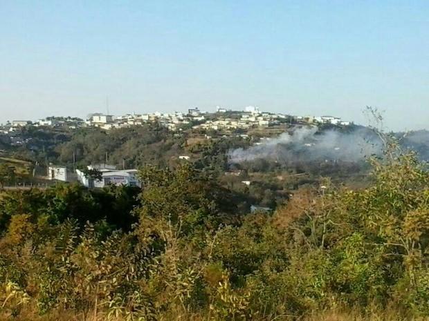 Explosão Fabrica fogos de artificio Santo Antonio do Monte 5 (Foto: Grupo de Relacionamentos da Polícia Militar / Divulgação)