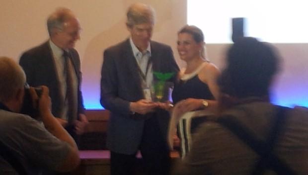 Denise de Medeiros venceu a categoria regional Sul (Foto: Janara Nicoletti/RBS TV)